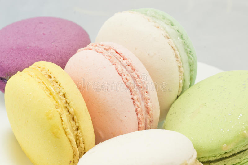 Download Kleurrijke macaron stock foto. Afbeelding bestaande uit koekje - 39118132