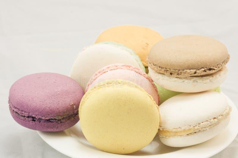 Download Kleurrijke macaron stock foto. Afbeelding bestaande uit koekjes - 39118196