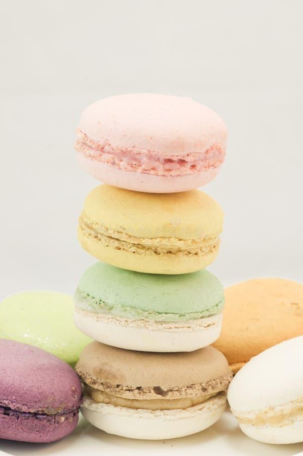 Download Kleurrijke macaron stock foto. Afbeelding bestaande uit dessert - 39118278