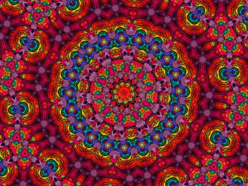 Kleurrijke mandala vector illustratie