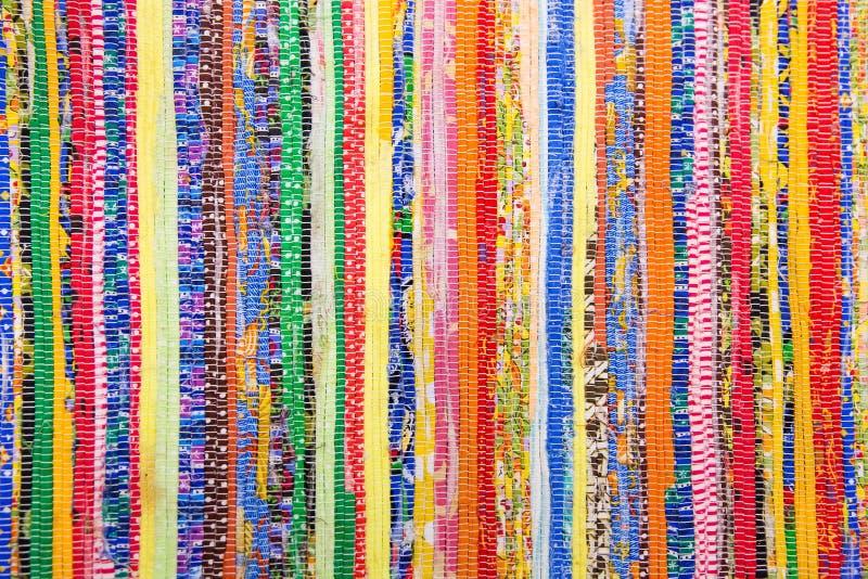 Kleurrijke met de hand gemaakte dekens stock afbeelding