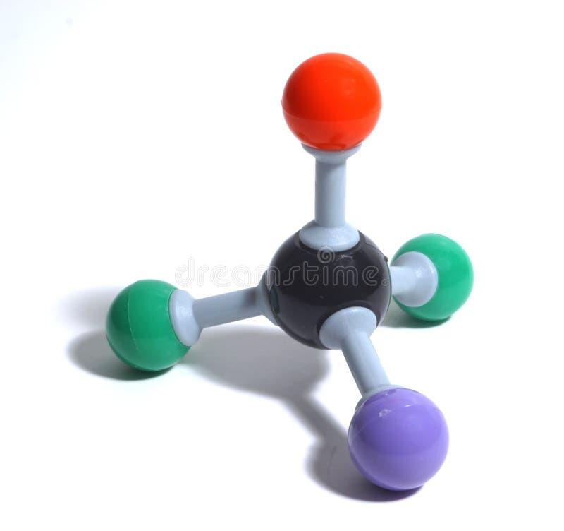 Kleurrijke Molecule royalty-vrije stock foto's