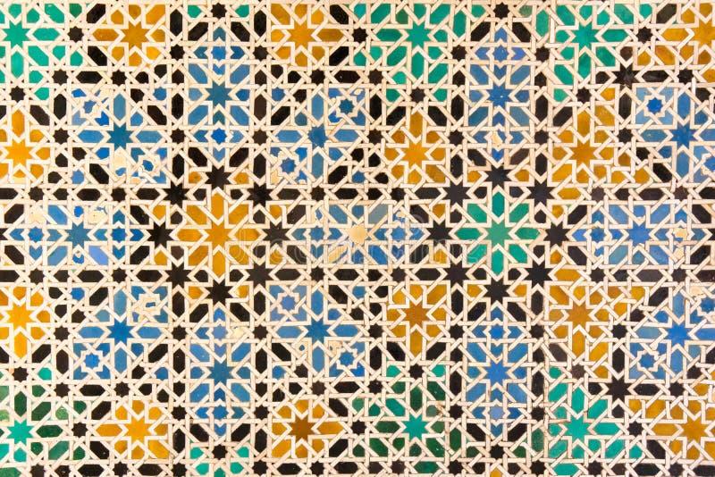 Kleurrijke mozaïektegels royalty-vrije stock afbeelding