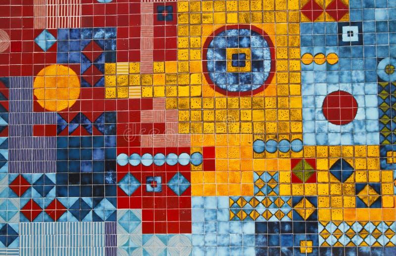 Kleurrijke Muurschildering stock fotografie