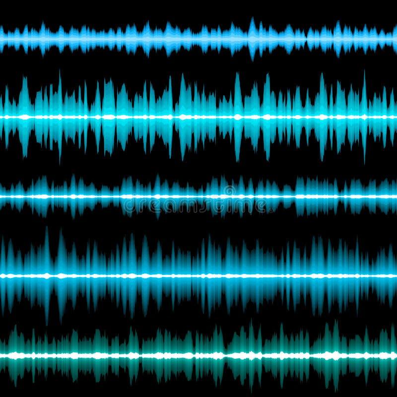 Kleurrijke Muzikale Bar Eps 10 vector illustratie