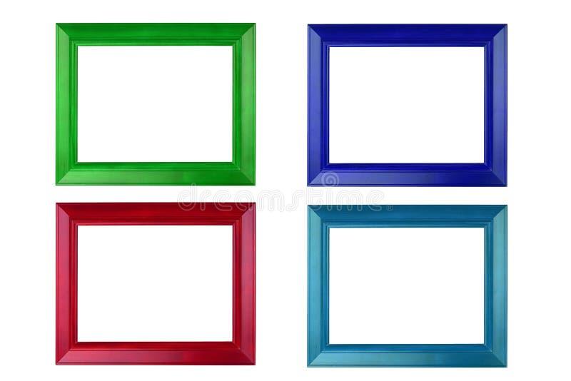Kleurrijke Omlijsting royalty-vrije stock afbeelding