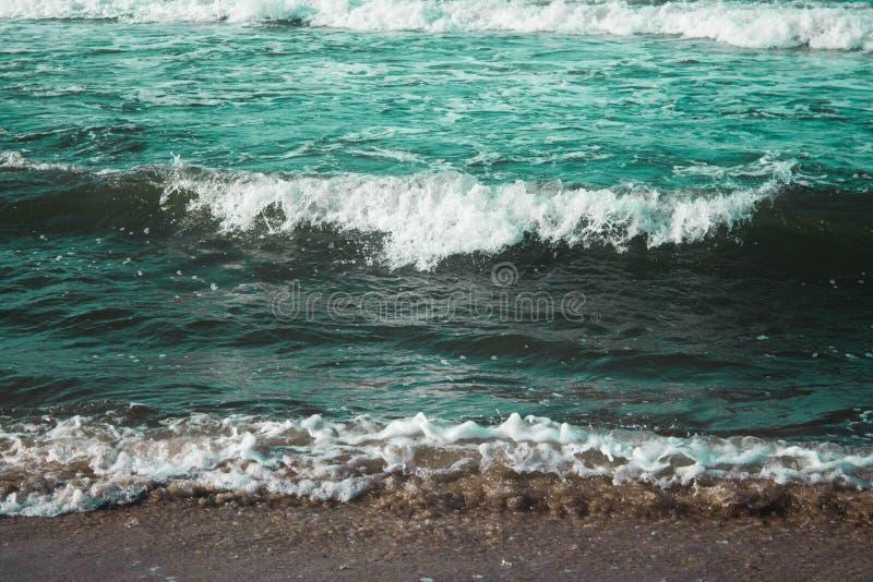 Kleurrijke overzees stock fotografie