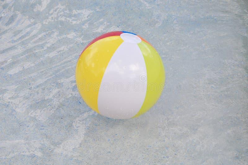 Kleurrijke poolbal stock fotografie