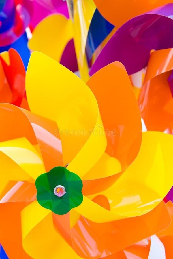 Kleurrijke propellor royalty-vrije stock afbeelding