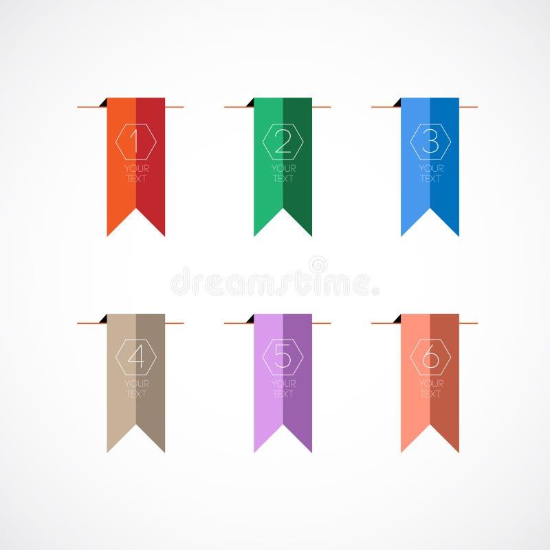 Kleurrijke referentie vector illustratie