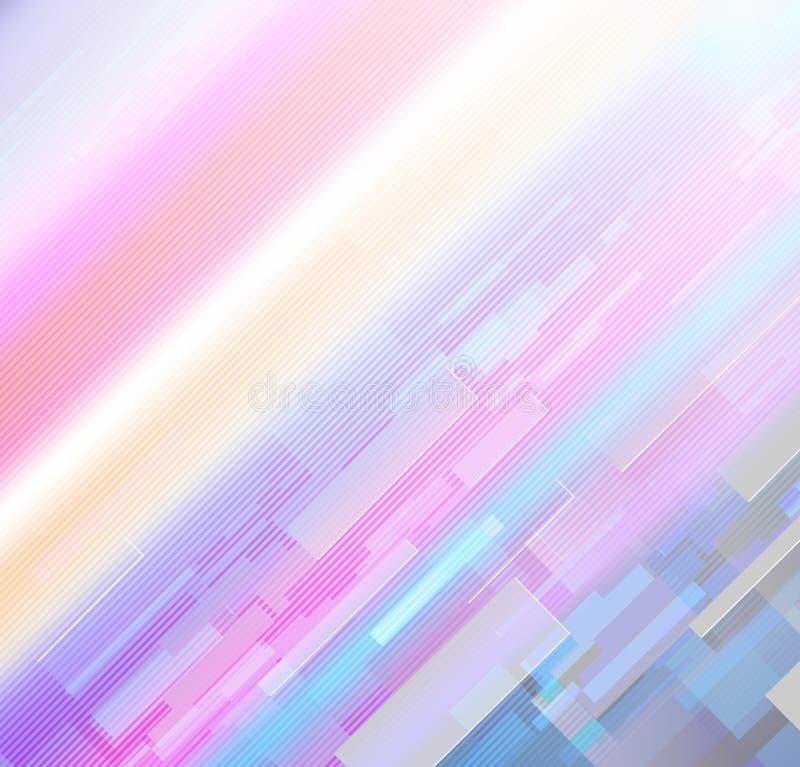 Kleurrijke regenboog in purpere en violette tonen royalty-vrije stock foto's