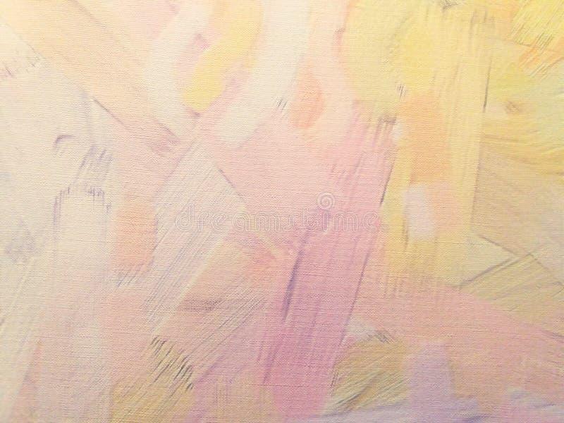 Kleurrijke roze, gele en oranje muur heldere achtergrond royalty-vrije stock afbeelding