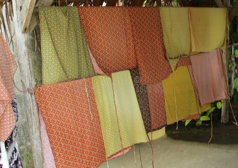 Kleurrijke Sarongen royalty-vrije stock afbeelding