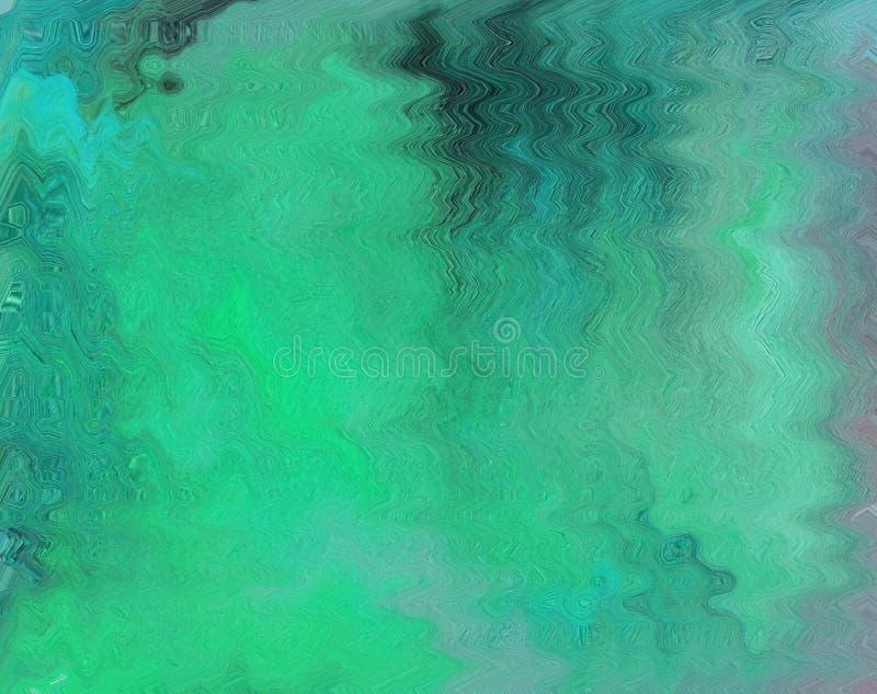 Kleurrijke schone en stevige abstracte achtergrond met een golvend geklets stock illustratie
