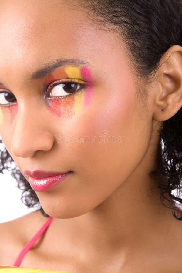 Kleurrijke schoonheid stock afbeelding