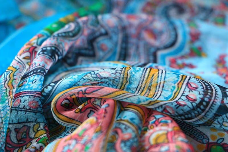 kleurrijke sjaal royalty-vrije stock foto's