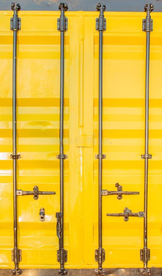 Kleurrijke stapel van container het verschepen stock afbeelding