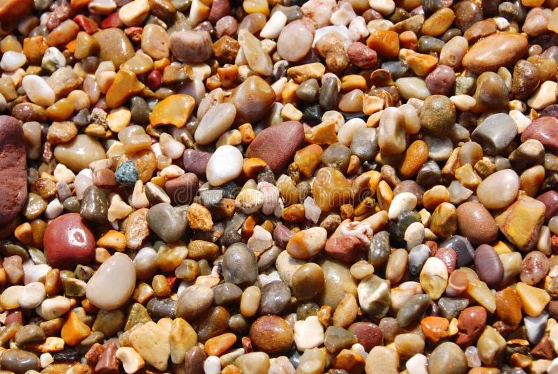 Kleurrijke stenenachtergrond stock afbeelding