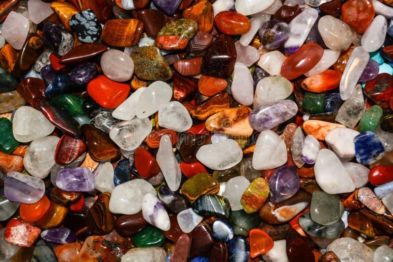 Kleurrijke stenenachtergrond royalty-vrije stock afbeeldingen