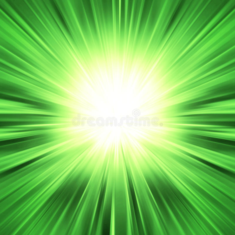 Kleurrijke Straal van de explosie van Lichten stock fotografie