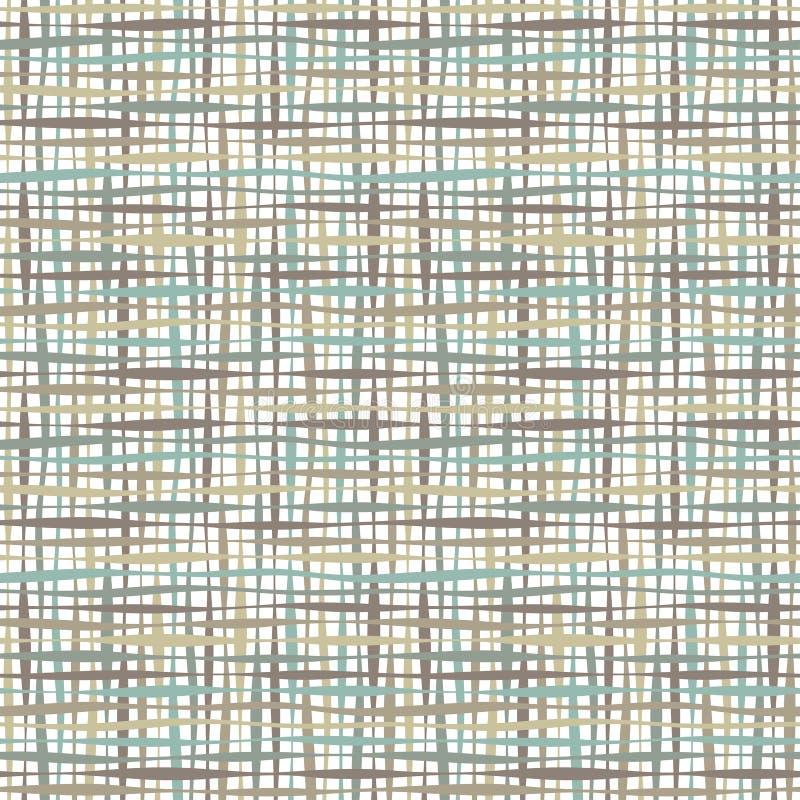 Kleurrijke strepen en lijnen stock illustratie