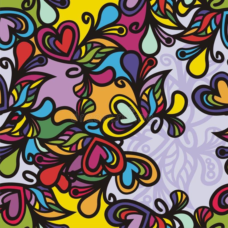 Download Kleurrijke textuur vector illustratie. Illustratie bestaande uit naadloos - 29501396
