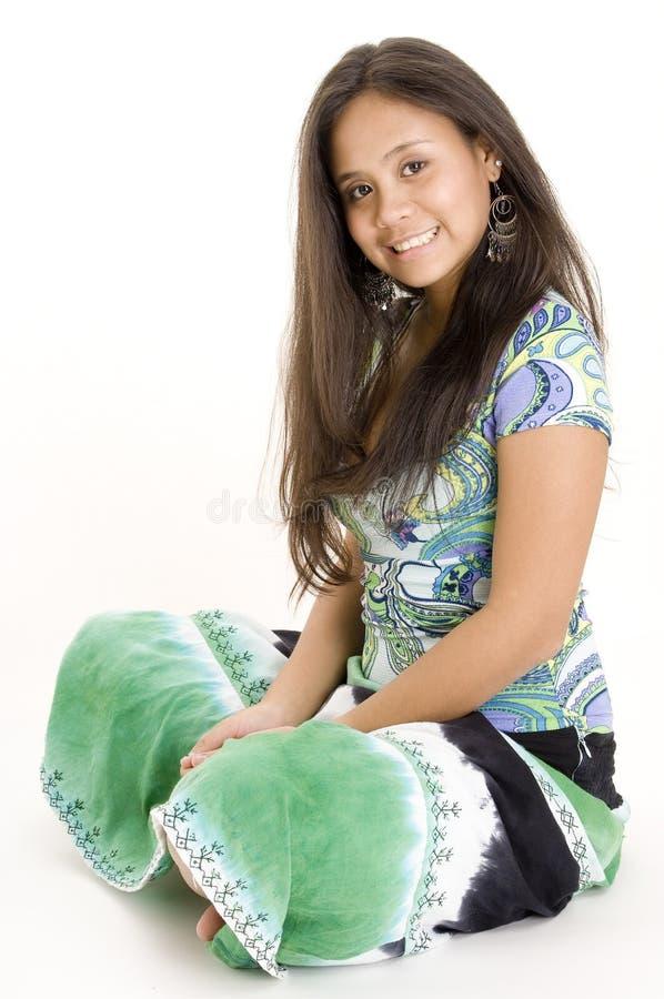 Kleurrijke Tiener 2 stock foto