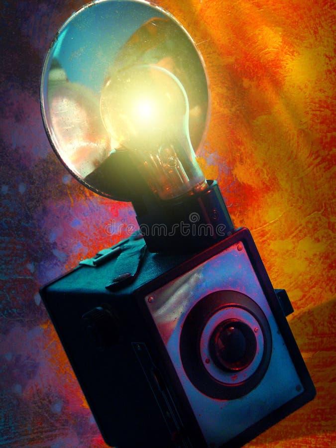 Kleurrijke Uitstekende Camera royalty-vrije stock afbeelding
