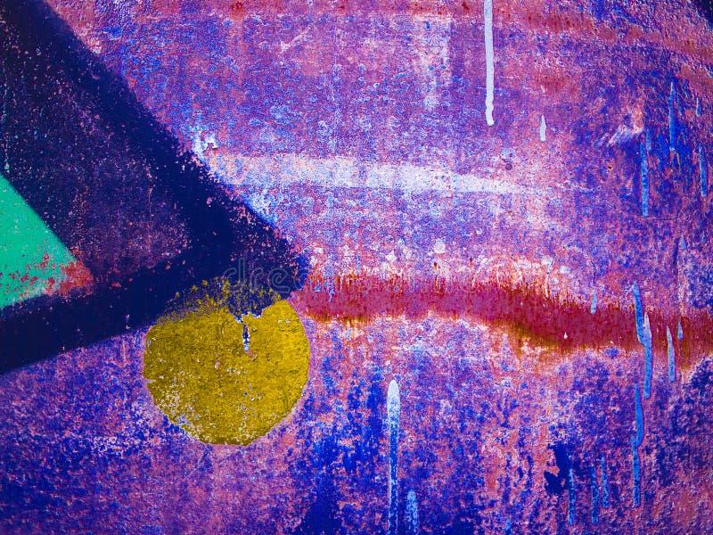 Kleurrijke vage abstracte achtergrond of bokeh royalty-vrije stock foto