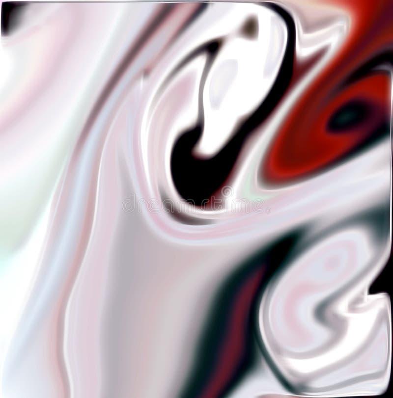 Kleurrijke vage achtergrond in witte tinten vector illustratie