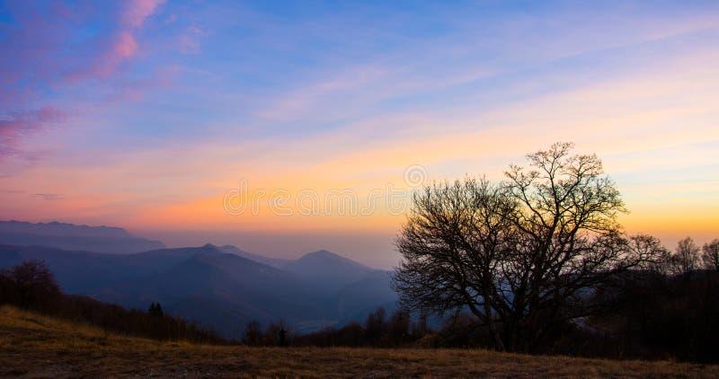 Kleurrijke vallei stock afbeeldingen
