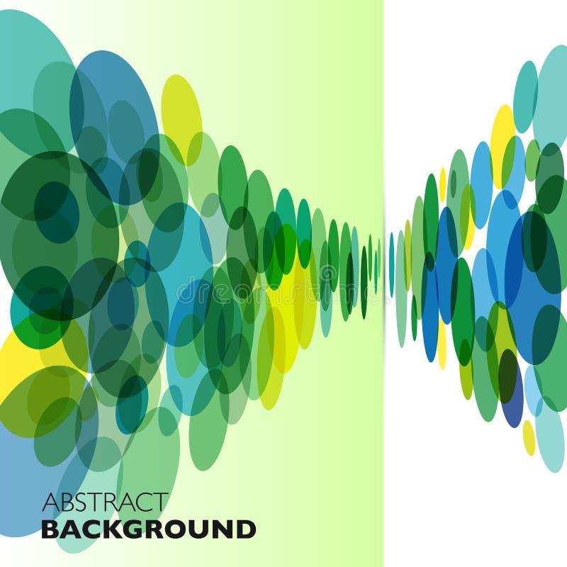 Kleurrijke vector abstracte geometrische achtergrond royalty-vrije illustratie