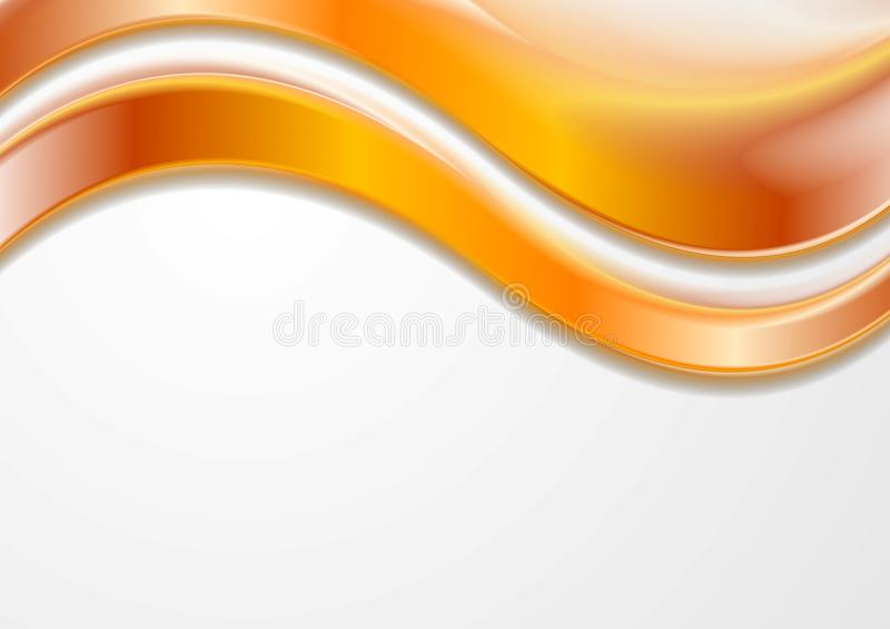 Kleurrijke vector golvende achtergrond stock illustratie