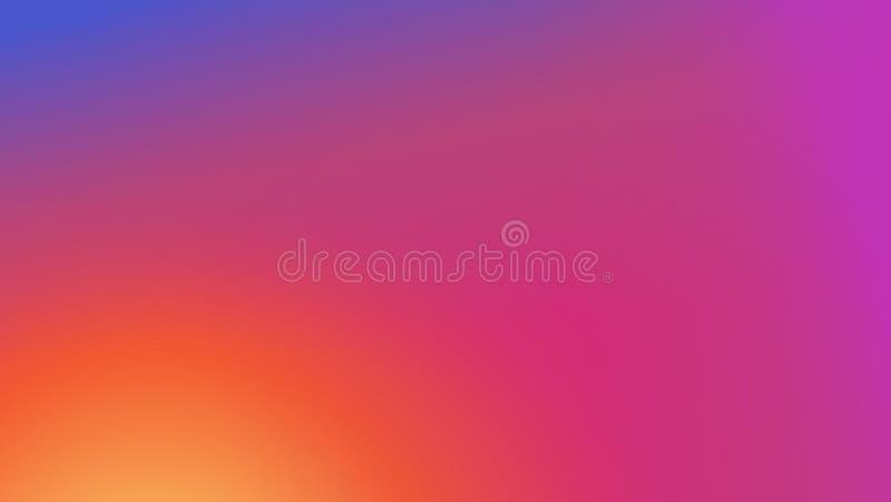 Kleurrijke vector moderne verse gradiëntachtergrond royalty-vrije illustratie
