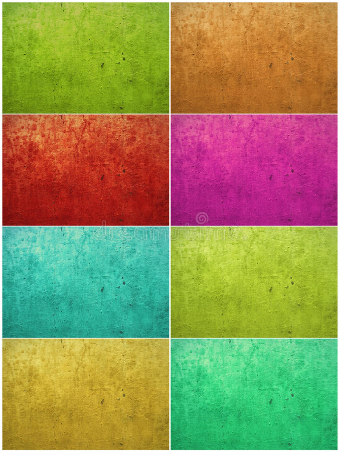 Kleurrijke verf gewassen pleisterachtergrond vector illustratie