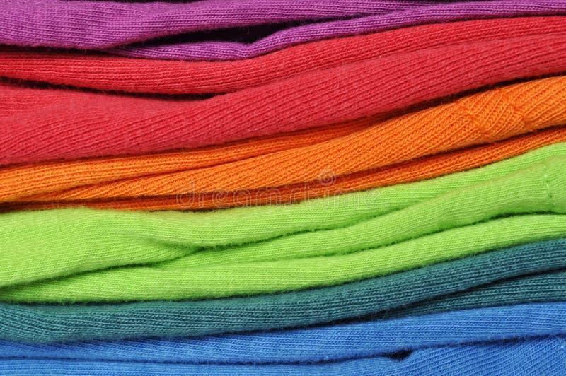 Kleurrijke Wasserij stock foto's
