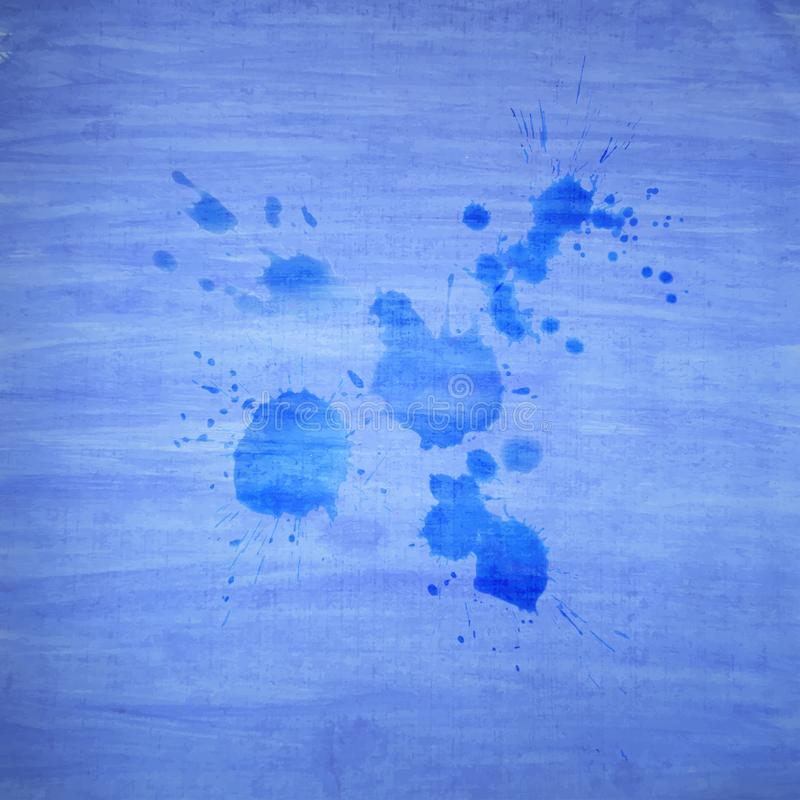 Kleurrijke waterverfhand als achtergrond die voor uw ontwerp en tekst wordt getrokken Moderne Illustratie vector illustratie