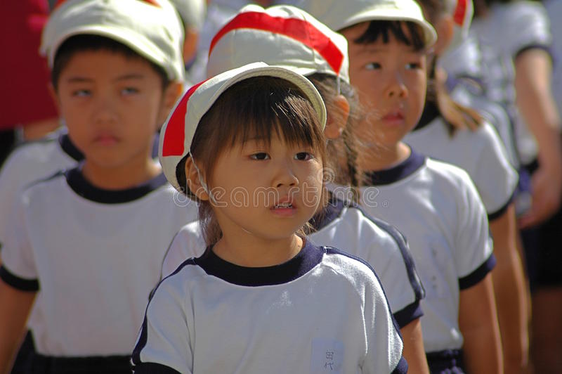 Kleuterschoolkinderen royalty-vrije stock afbeeldingen