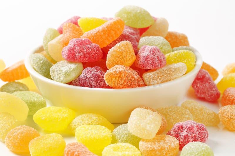 Kleverig suikergoed royalty-vrije stock afbeeldingen