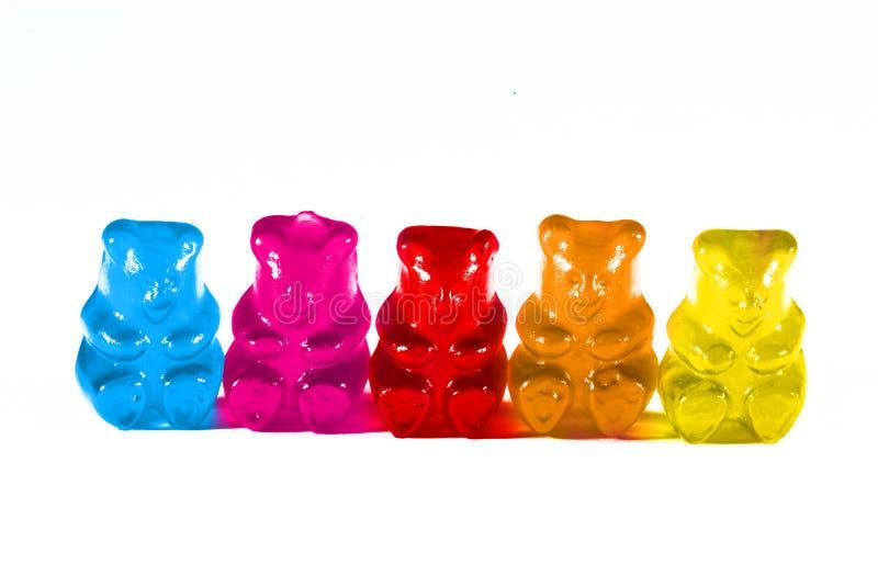 Kleverige beren stock afbeeldingen
