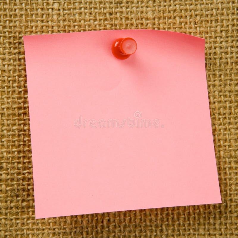 Kleverige Nota stock afbeeldingen