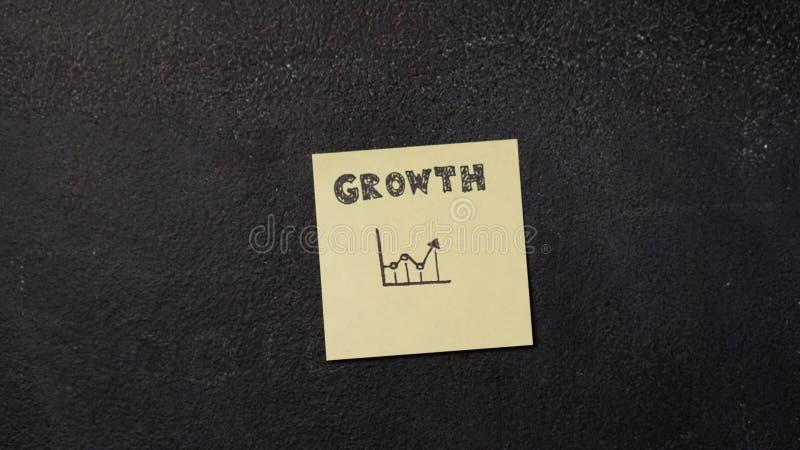 Kleverige nota over het bord royalty-vrije stock foto's