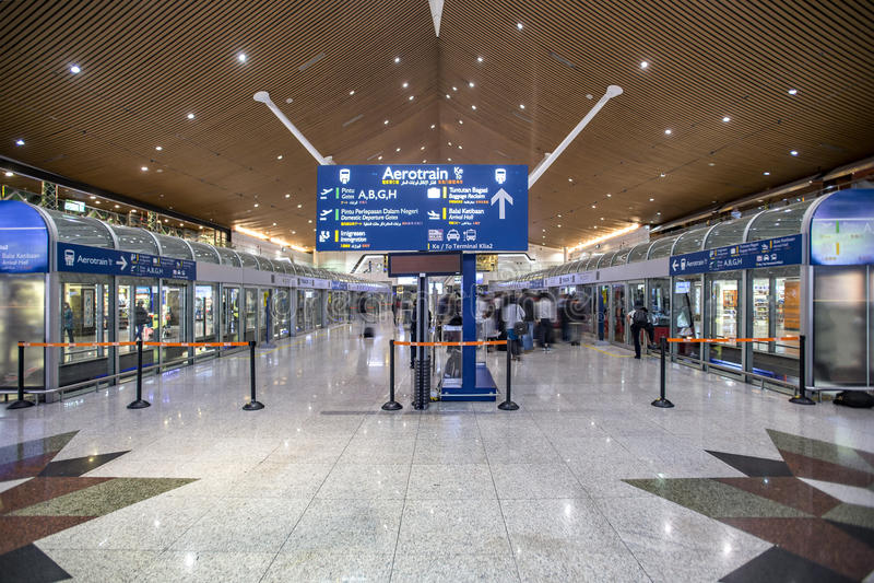 KLIA Airport Navette stock photography
