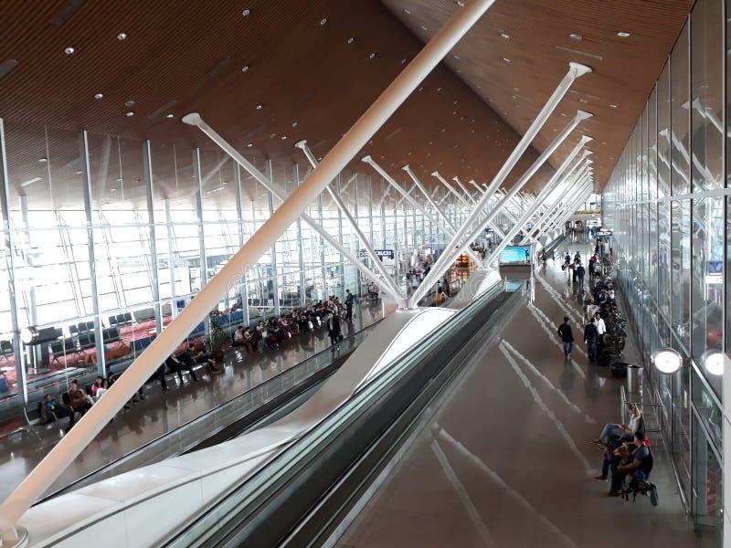 Klia Internationale Luchthaven, JAN17 2017 stock fotografie