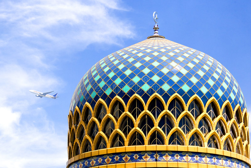 KLIA Moschee stockfotografie
