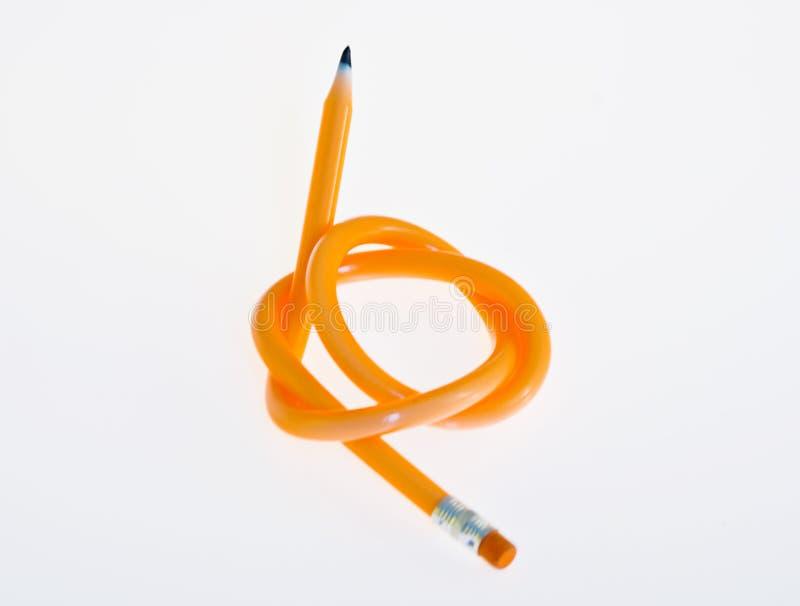 klibbig blyertspenna royaltyfria bilder