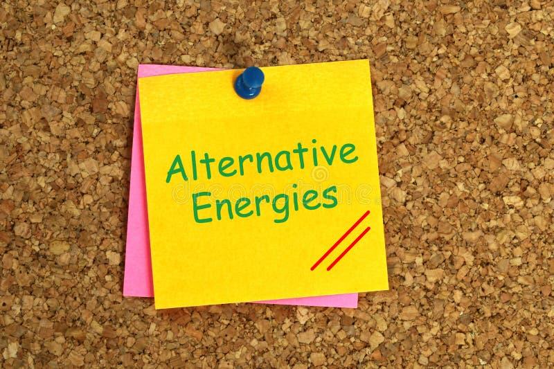 Klibbiga alternativa energier royaltyfria bilder