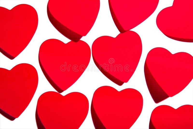 klibbiga hjärtor arkivbilder