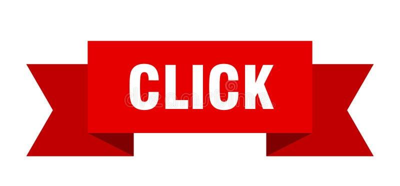 Klickenband stock abbildung