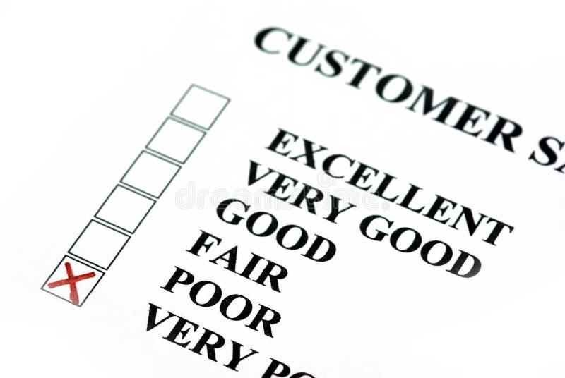 klient ankieta obrazy royalty free